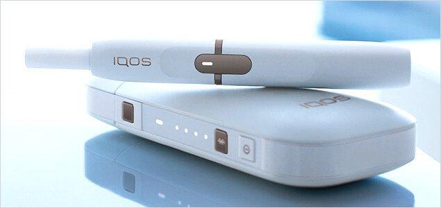 IQOS from Phillip Morris white kit