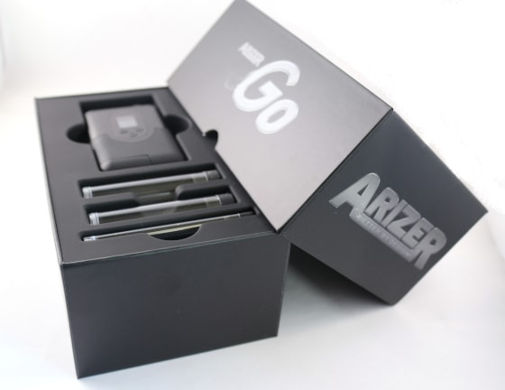 Arizer Argo Whats in the box