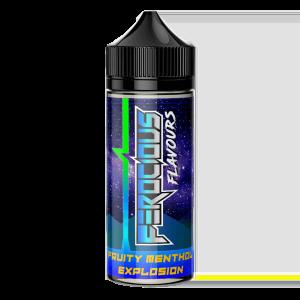 fruity menthol explosion e liquid