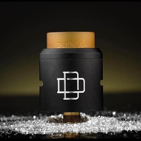 RDA Authentic DRUGA By AugVape Black