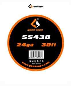 Bobina SS430 24GA (10 m) de Geekvape