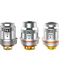 N3 resistencia triple meshed de 0.2ohm diseñado para funcionar entre 65w a 100w.