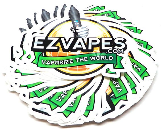 EZVapes Decal