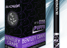 Bentley Grape White Rhino Blacklight E-Hookah 6mg