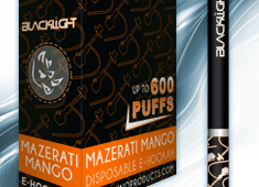 Mazerati Mango White Rhino Blacklight E-Hookah 6mg