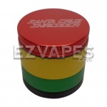 Santa Cruz Shredder 4 Piece Rasta Grinder Mini 40mm