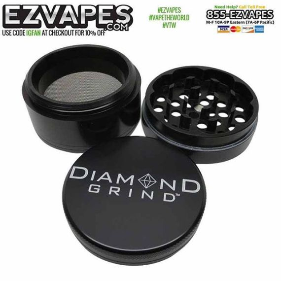A good grinder goes a long way with your #pipe or #vape.
