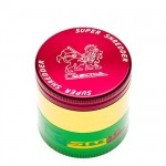 Cosmic Super Shredder 4 Piece Medium Rasta Grinder 53mm