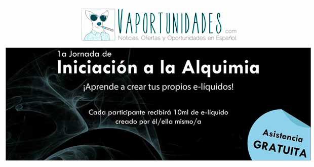 VAPERCENTRE JORNADA INICIACION ALQUIMIA