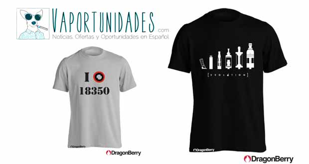 Dragonberry camisetas atomizadores mexico