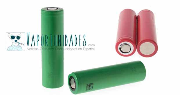 baterias 30 amperios 30a vapeo