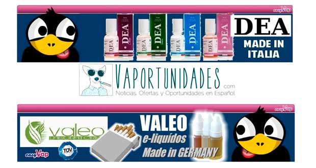 oferta liquidos valeo dea easyvap espana