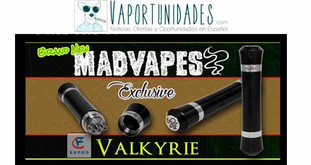 valkyrie madvapes ehpro negro black