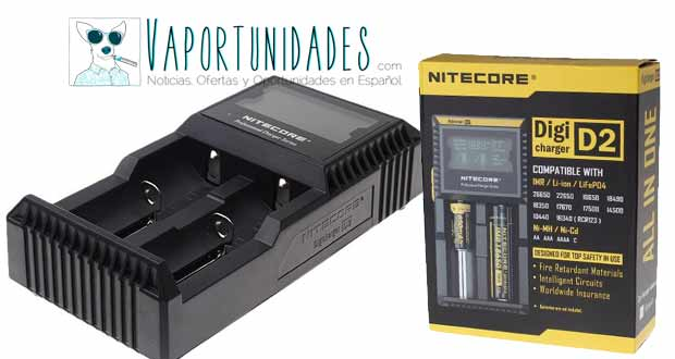 Nitecore digicharger d2 fasttech