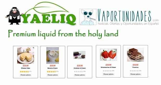 liquidos yaeliq oferta 100ml