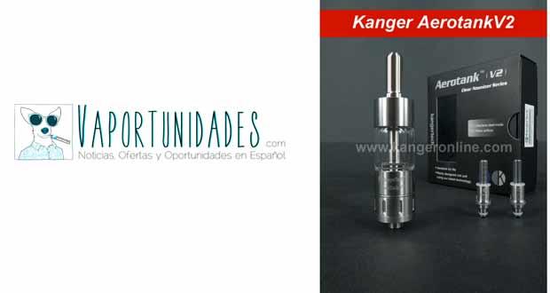 Kanger Aerotank v2 nueva claromizador