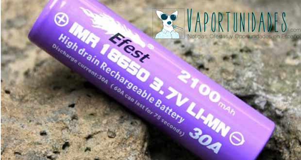 baterias efest purple