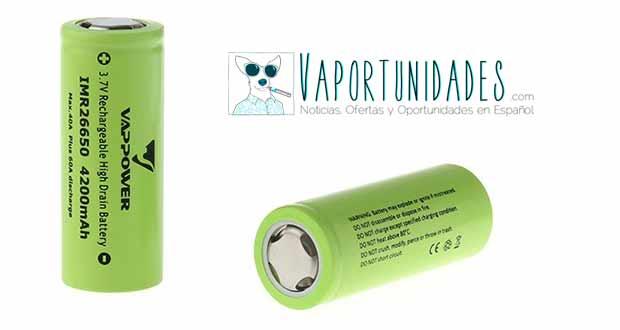 baterias fasttech vappower 26650