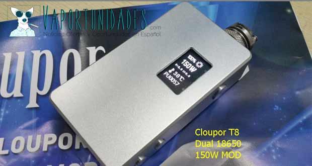 cloupor t6 t8 100w 150w mod