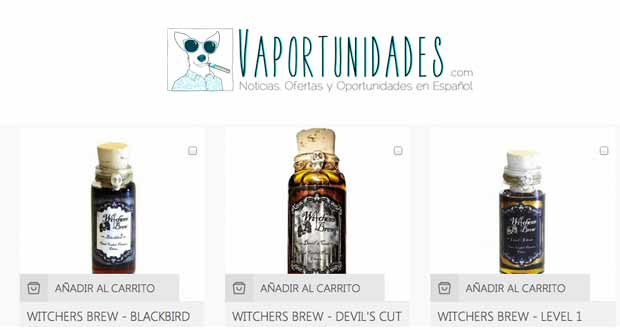 vapexpress liquidos witchers brew