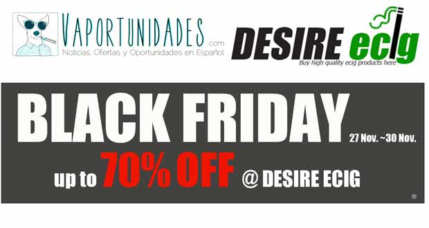 DEsire ecig desirecig black friday