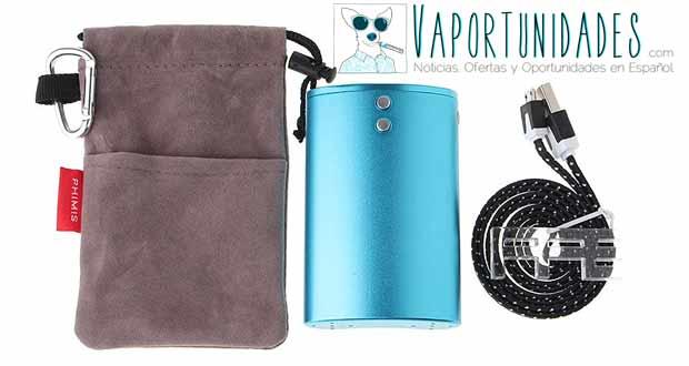 vapor flask fasttech bateria interna