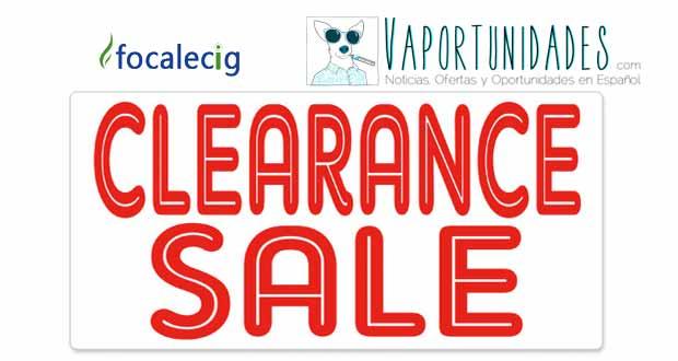 focalecig liquidacion stock clearence sale