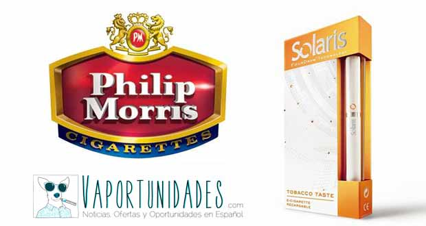 cigarrillo electronico solaris philip morris españa
