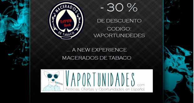 macerados, tabaco vapor-rock liquidos