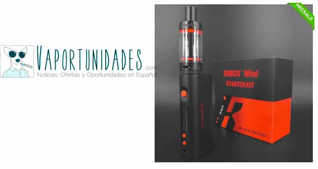 kanger subox mini starter kit gearbest