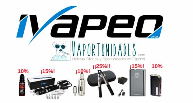 ofertas flash ivapeo