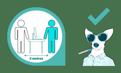 2 Tienda Imagenes post Coronavirus distancia minima