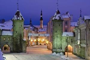 Estonia in winter