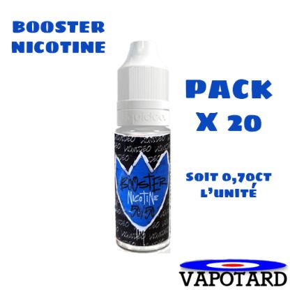 pack e-liquide booster nicotine 20 mg/ml pour DIY