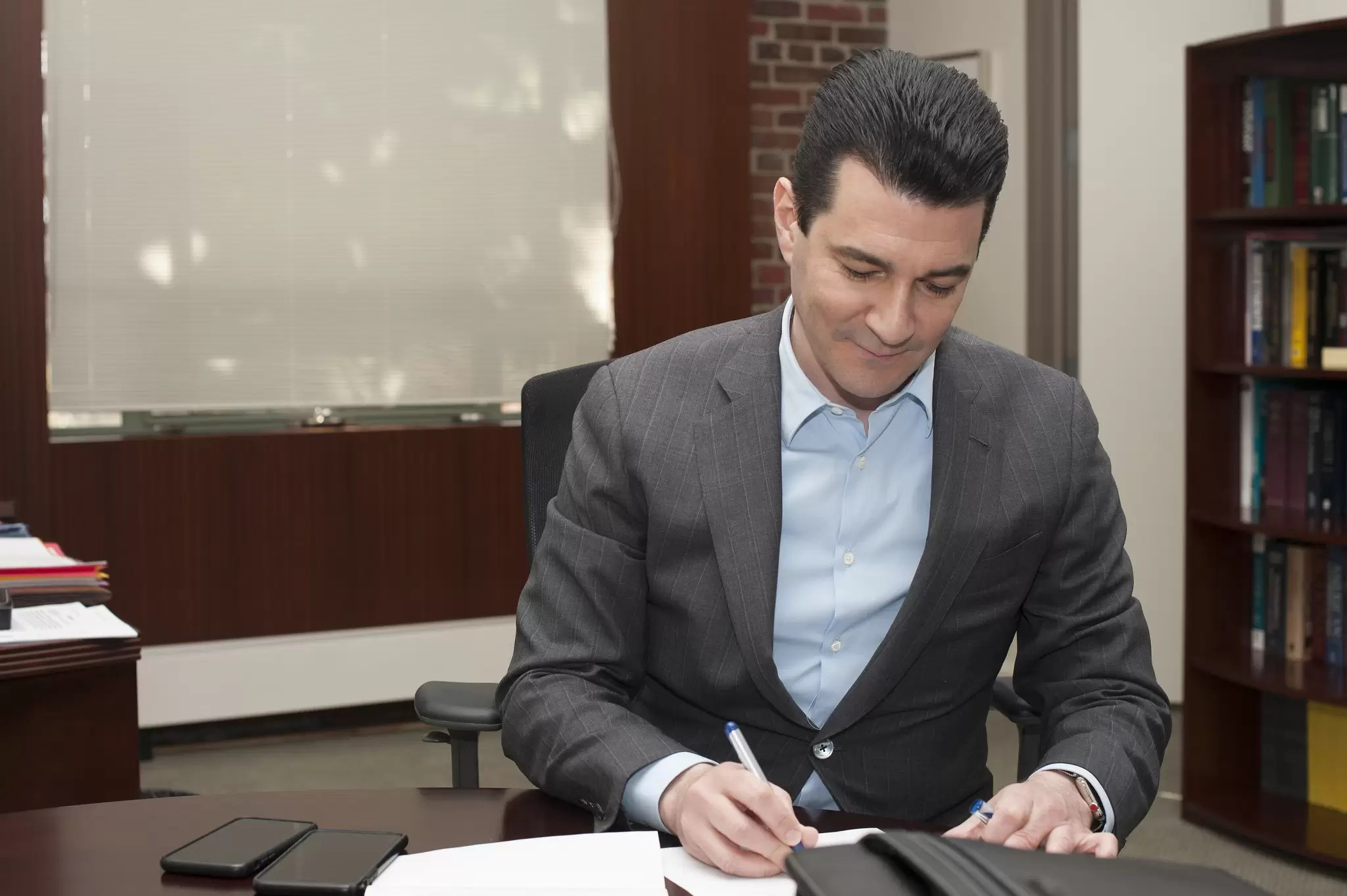 Gottlieb lands Big Pharma job