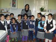Roma-Grundschüler aus dem Hygieneprojekt an der Schule Traian Dârjan