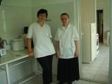 Küchenfrauen in der Kantine