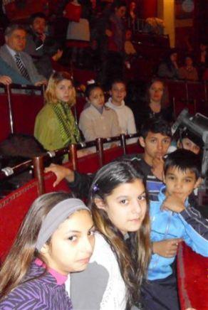 Die Fördergruppe in der Oper von Klausenburg