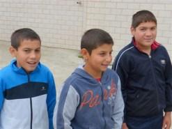 Samir, Joan und Romeo – drei Hauptschüler aus Cetatea Veche in Huedin