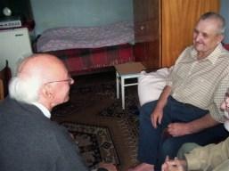 Besuch bei einem Senioren
