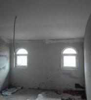 Verputzer Saal im Obergeschoss Dez 18