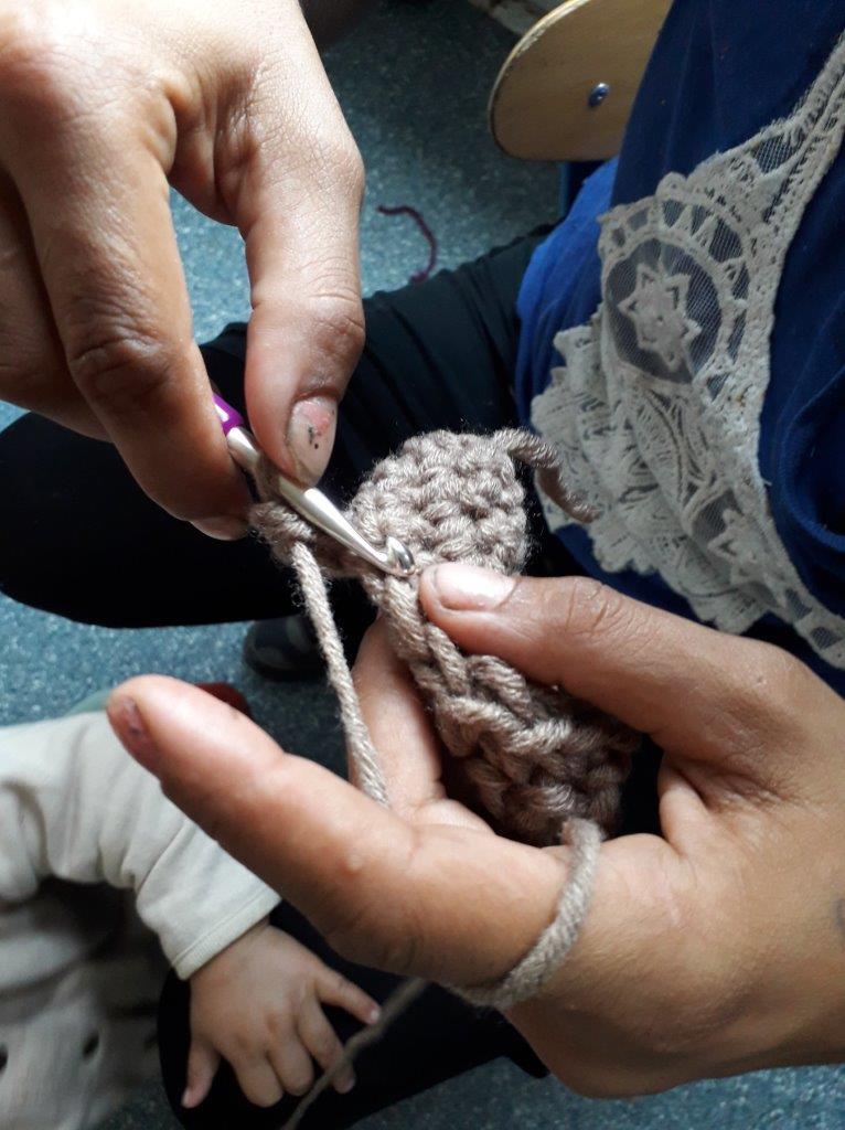 """Mutter-Kind-Projekt für Roma-Frauen von der """"Rampa"""""""