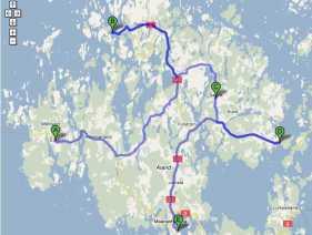 Vägnät Åland
