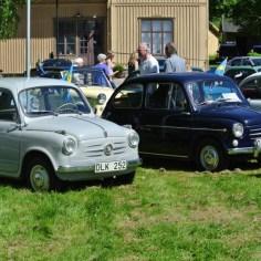 Fiat 500 som ställde ut