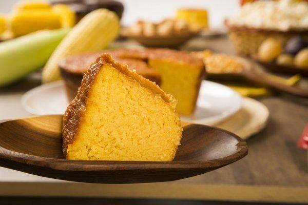 Receita de bolo de milho fit cremoso