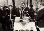 Preoţii Ionel Berendea şi Iacob Algeorge