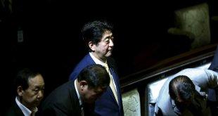 Sinsho Abe, forsætisráðpherra  Japans.,