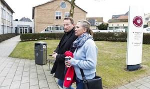 Lisbeth Zornig og Mikael Rauno Lindholm.
