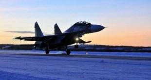 Su-30SM orrustuþota.