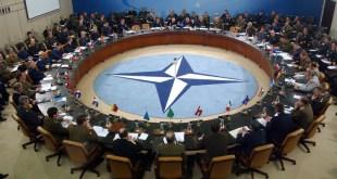 Fundur í höfuðstöðvum NATO